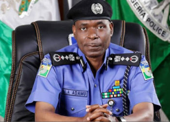 Nigerian Police Inspector General Mohammed Adamu (PHOTO/Courtesy).