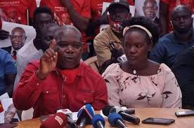 Rubaga North legislator Moses Kasibante was denied NUP flag (PHOTO/Courtesy).