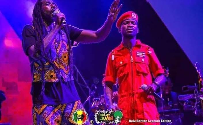 Legendary singer Buju Banton and Bobi Wine release freedom song (PHOTO/Courtesy).