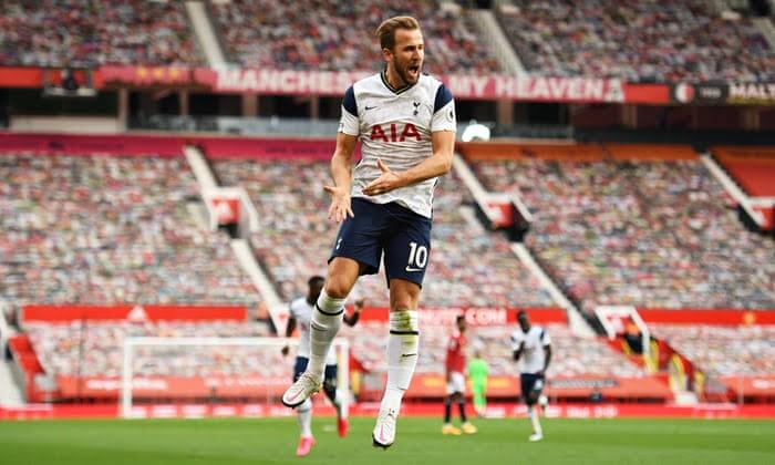 Harry Kane scored twice in the victory over Man United on Sunday. (PHOTO/Courtesy)