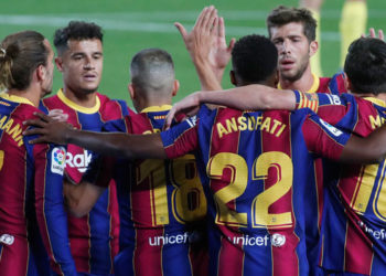 Barcelona have won two and drawn the other of their opening three games. (PHOTO/Courtesy)