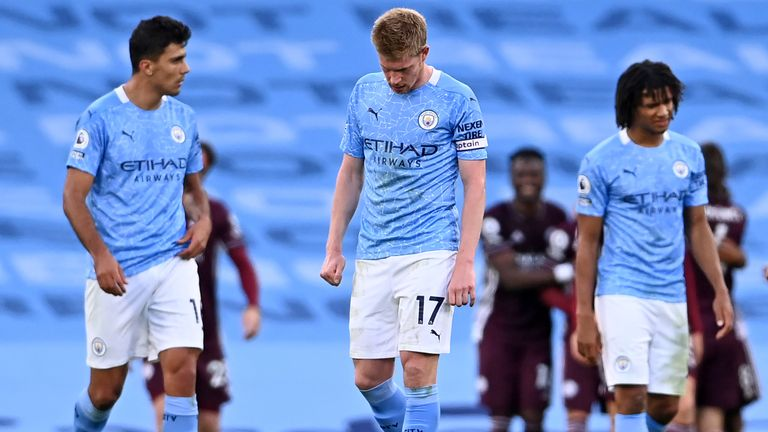 Man City lost 2-5 against Leicester City last weekend. (PHOTO/Courtesy)