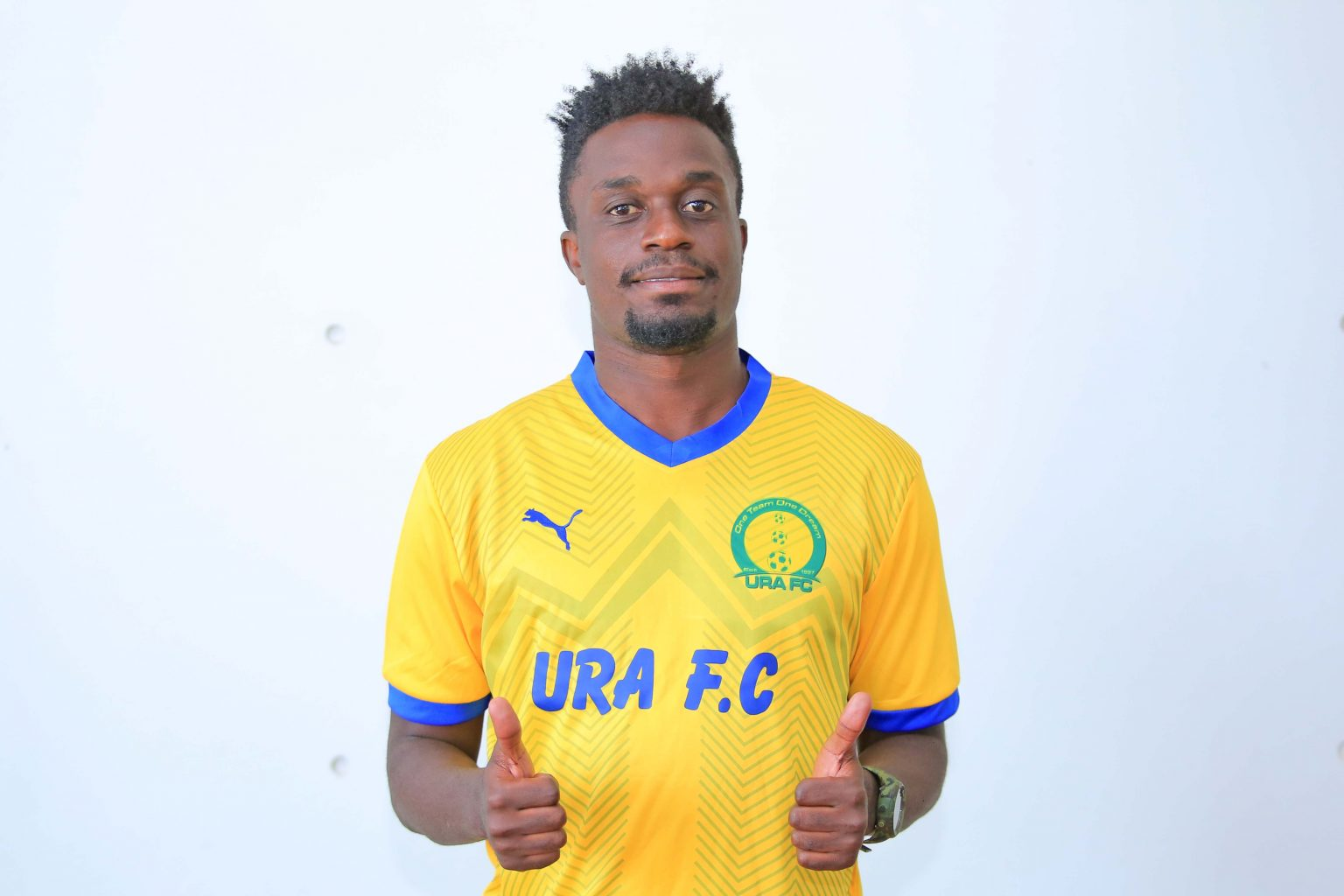 Katongole is URA FC's 7th signing this off-season. (PHOTO/Courtesy)