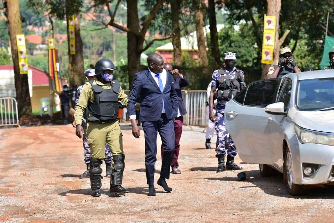 FDC Presidential candidate Patrick Amuriat Oboi arrested in Gulu (PHOTO/File)