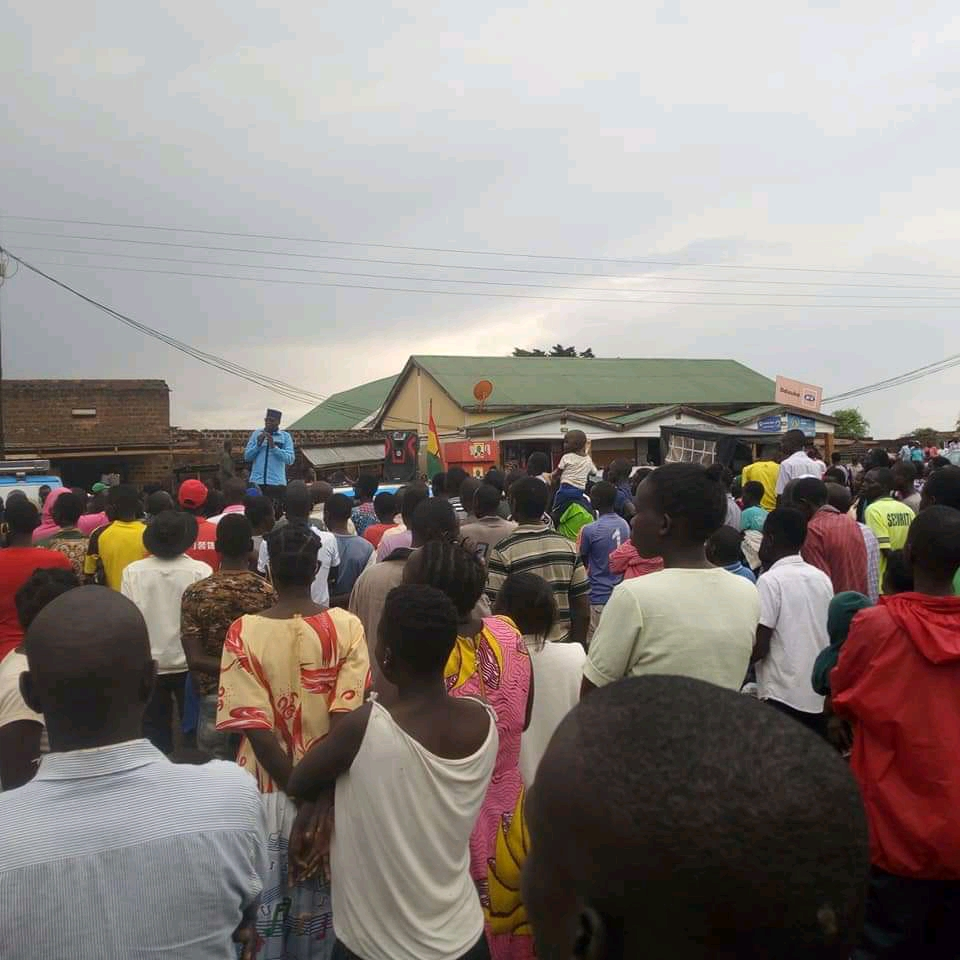 FDC Presidential candidate Patrick Oboi Amuriat campaigning in Soroti district (PHOTO/Courtesy).