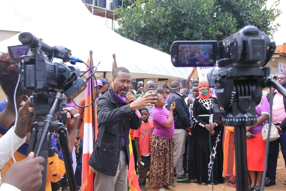 Alliance for National Transformation's Presidential candidate  Gen Mugisha Muntu (PHOTO/Courtesy).