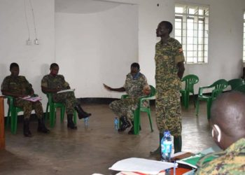 Lotukei Paul appearing before Court Martial on Friday (PHOTO/Courtesy).