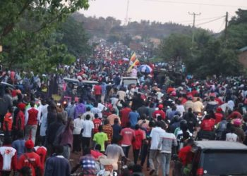 Bobi Wine received massive support in Busoga sub region (PHOTO/Courtesy).