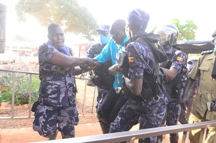 FDC Presidential candidate Patrick Amuriat Oboi arrested in Gulu (PHOTO/Courtesy).
