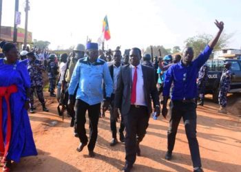 FDC Presidential candidate Patrick Oboi Amuriat has suspended campaigns (PHOTO/Courtesy).
