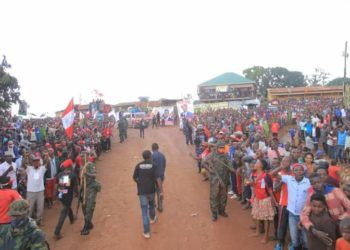 Military has imposed day time curfew in Luweero (PHOTO/Courtesy)