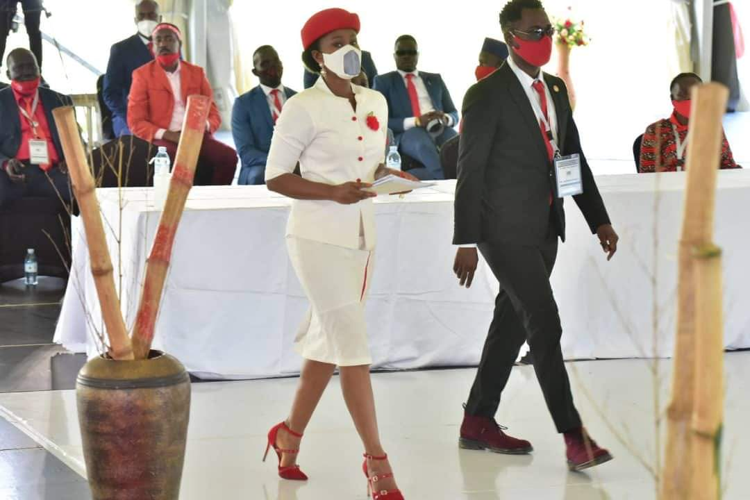 Bobi Wine's wife Barbie Kyagulanyi and singer Nubian Li going to second his Presidential bid (PHOTO/Courtesy).