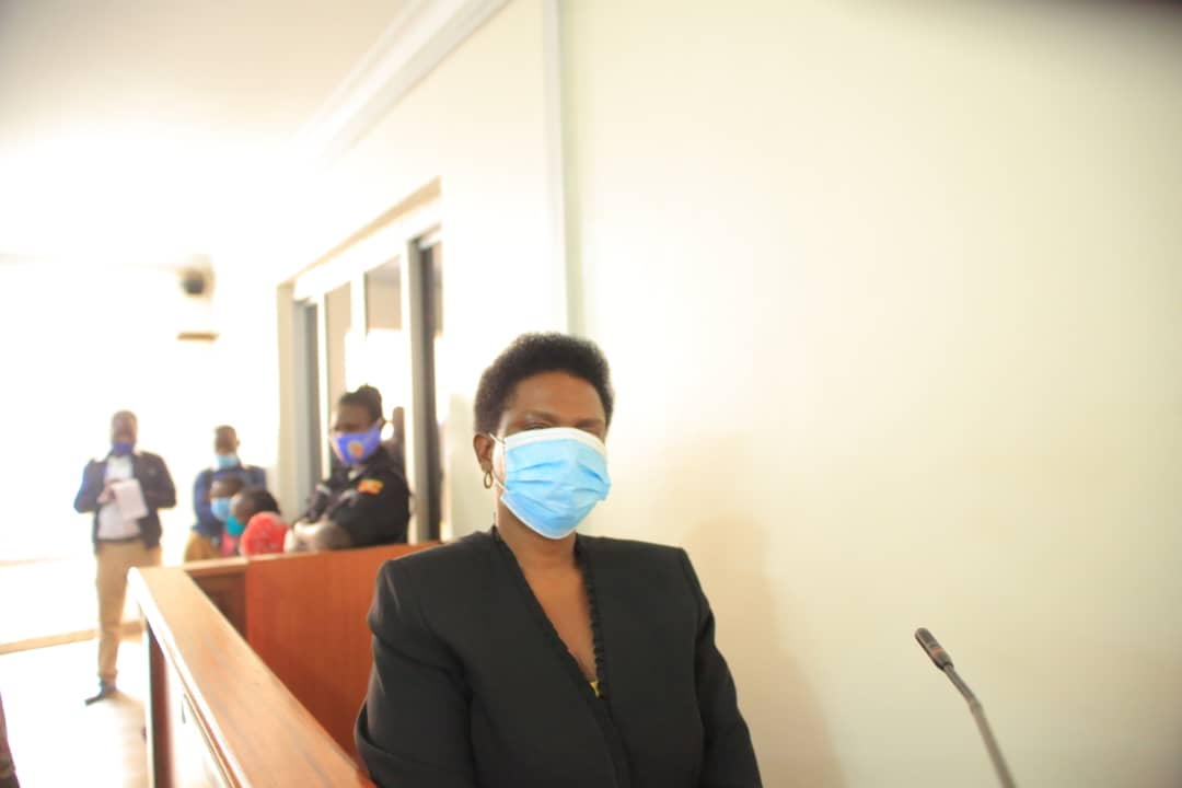 Ms Ntambi, in court last month. The DPP has ordered for her interdiction (PHOTO/File).
