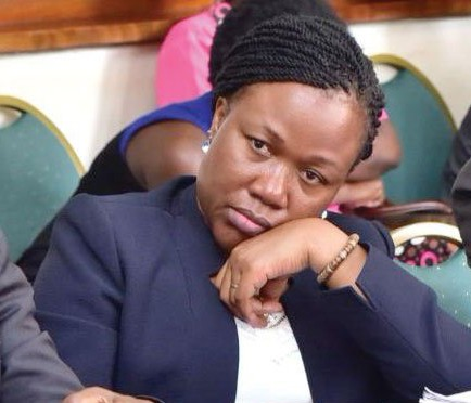 BoU Legal Counsel Margaret Kasule presented a legal opinion of external lawyers (PHOTO/File).