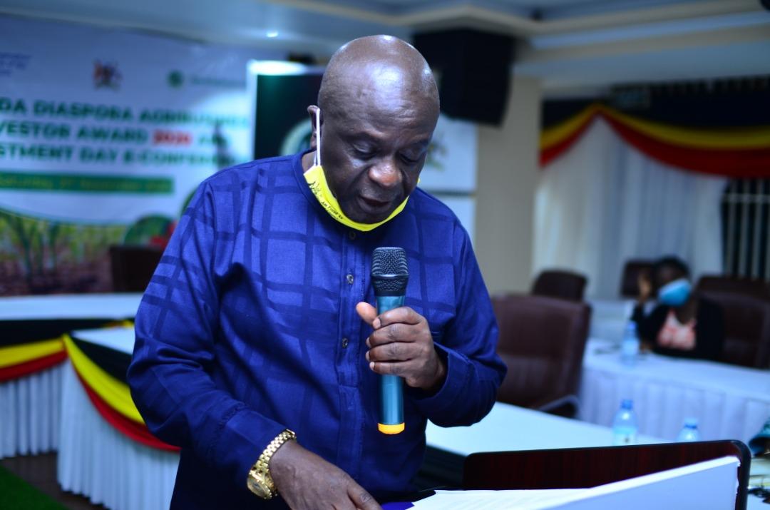 The Senior Presidential Advisor on Diaspora Affairs, Amb. Abbey Walusimbi (PHOTO/Courtesy).