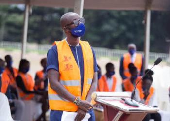 'Togobe Corona' campaign ambassador Eddy Kenzo (PHOTO/Courtesy).