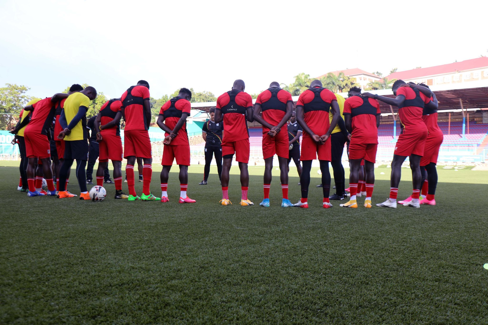The Cranes will face South Sudan on Friday at Kitende. (PHOTO/Courtesy)