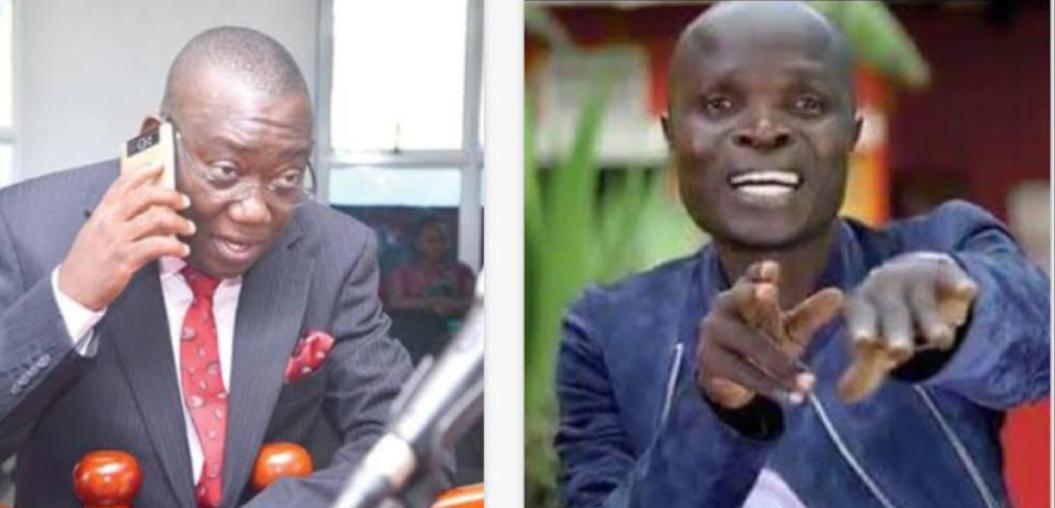 MP Kato Lubwama and singer Ronald Mayinja respectively (PHOTO/File).