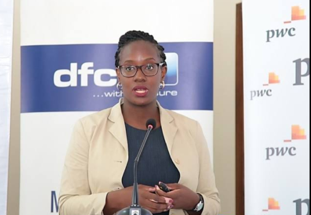 dfcu Bank's Head, Personal Banking, Miranda Bageine Musoke said the partnership with Prudential will enable the Bank to do more to support their customers (PHOTO/Courtesy).