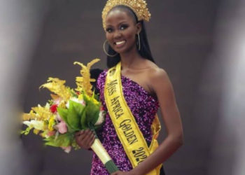 Uganda's Miss Pamela Aleper crowned Miss Africa Golden 2020 (PHOTO/Courtesy).