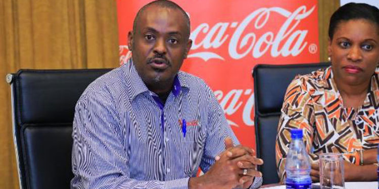 Simon Kaheru, the Coca Cola Public Affairs and Communications Director  (PHOTO/Courtesy).