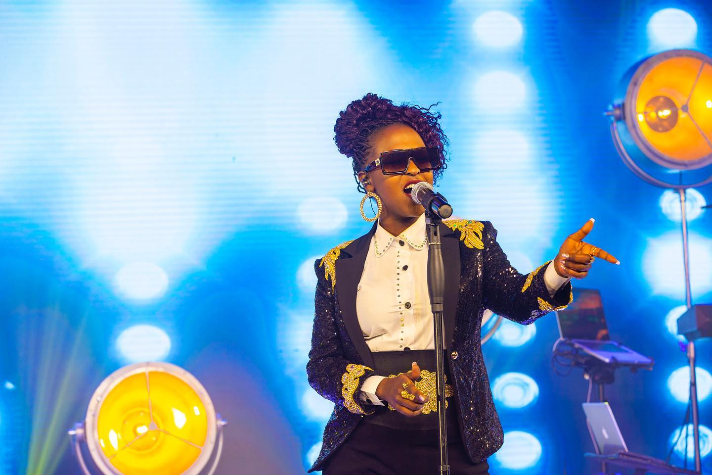 Lilian Mbabazi performs at Club Beatz (PHOTO/PML Daily).
