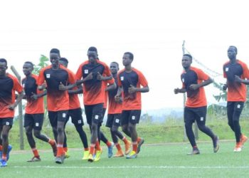 The Hippos are preparing for the upcoming AFCON U20 Zonal Qualifiers. (PHOTO/Courtesy)