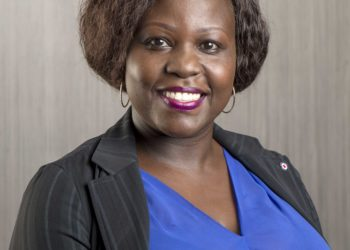 dfcu Bank's Segment Head, Public Sector Carolyn Andama (PHOTO/Courtesy)