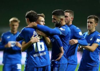 Hoffenheim are currently on a three game winless run. (PHOTO/Courtesy)
