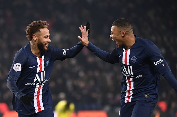 Neymar Jr (L) and Kylian Mbappe (R) are both expected to return for PSG against Monaco on Friday. (PHOTO/Courtesy)