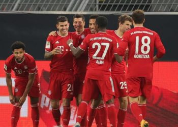 Bayern currently sit three points clear at the top of the Bundesliga. (PHOTO/Courtesy)