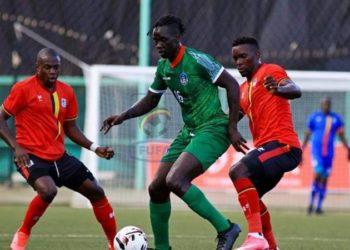 The Cranes beat South Sudan 1-0 on Thursday. (PHOTO/Courtesy)