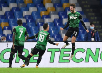 Sassuolo have won four and drawn two of their opening six Serie A games.(PHOTO/Courtesy)