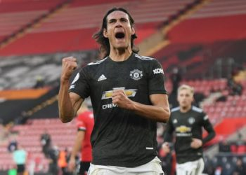 Cavani came off the bench to inspire Man United's come-back victory over Southampton on Sunday. (PHOTO/Courtesy)