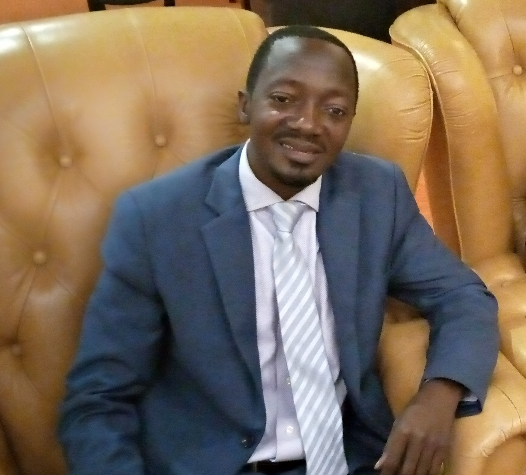 Luzindana Adam Buyinza, the founder Member of Uganda poor Youth Movement (PHOTO/Courtesy)