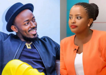 Singer Ykee Benda and journalist Sheilah Nduhukire (PHOTO/File).