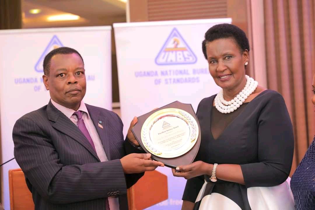 UNBS Ex boss Ben Manyindo and Trade minister Amelia Kyambadde respectively (PHOTO/Courtesy).
