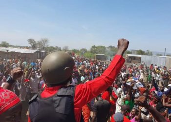 Bobi Wine held massive rallies Acholi Sub Region (PHOTO/Courtesy).