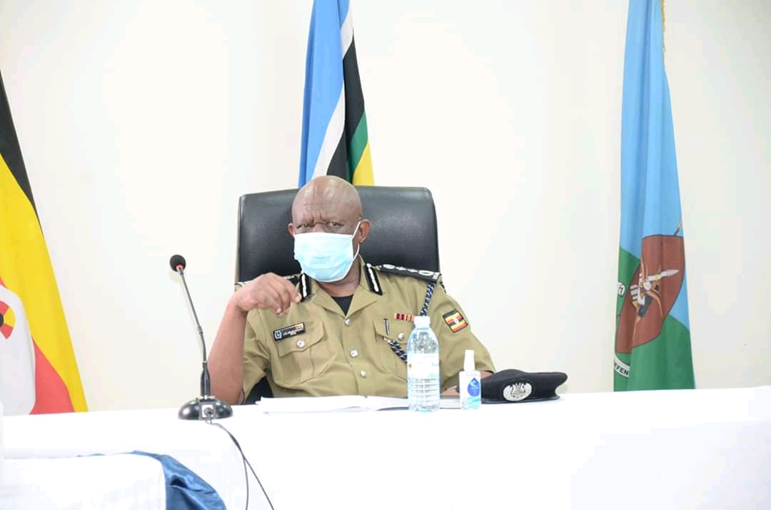 Inspector General of Police (IGP) Martin Okoth Ochola during the address on the national security on Friday evening (PHOTO/Courtesy).