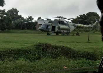 The army have deployed military choppers as Bobi Wine resumes campaigns (PHOTO/Courtesy).