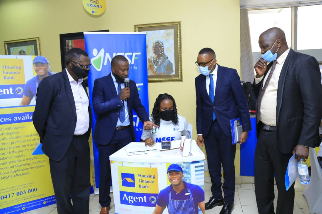 Housing Finance Bank , National Social Security Fund (NSSF) and ABC (Agent Banking Company) have today announced a partnership that enables social security collections through agency banking (PHOTO/Courtesy).