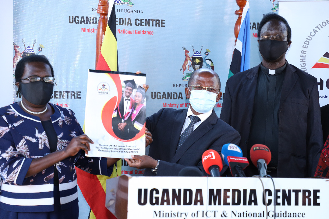 State Minister for Higher Education, Hon. Dr. John Chrysestom Muyingo officiated at the release (PHOTO/Courtesy).