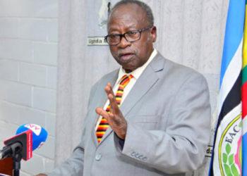 Former Minister Prof Tarsis Kabwegyere (PHOTO/File).