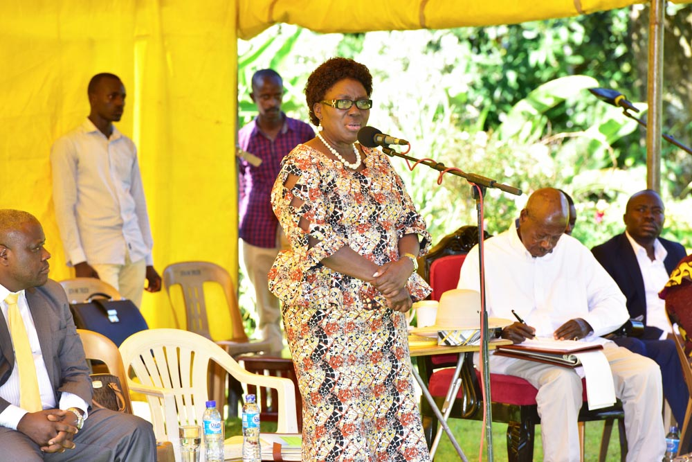Speaker Kadaga accused Ms. Kasule Lumumba of embezzling money meant for youth in the Busoga region (PHOTO/Courtesy)