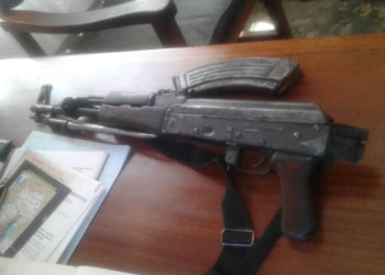 The recovered gun (PHOTO/Courtesy).
