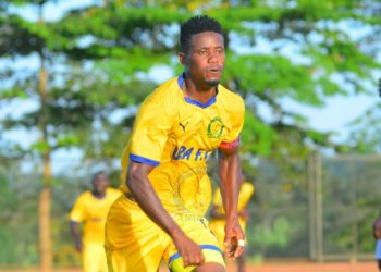 Saidi Kyeyune scored the winning goal against SC Villa on Saturday, December 12. (PHOTO/Courtesy)