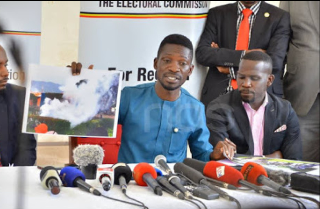Bobi Wine addresses the nation (PHOTO/File).