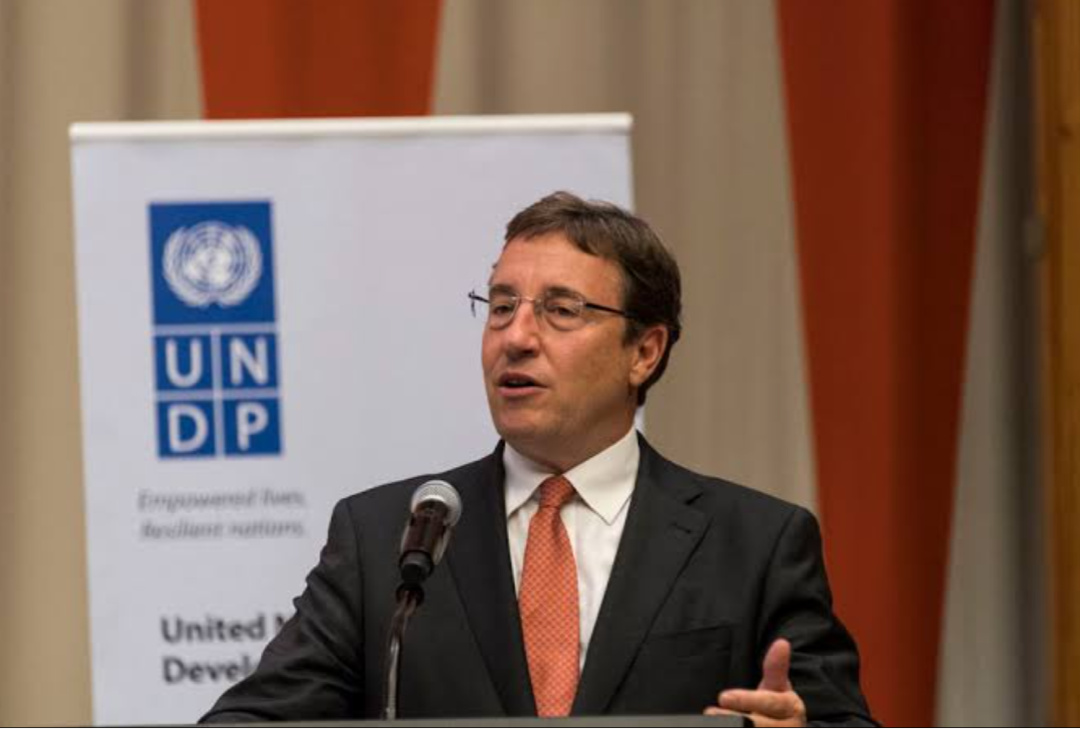 Achim Steiner, administrator of the United Nations Development Programme (PHOTO/Courtesy).