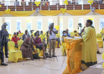 NRM party National Treasurer Rose Namayanja