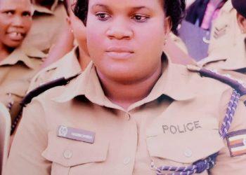 The now late ASP Gloria Nakiboneka (PHOTO/Courtesy).